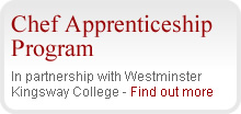 Chef Apprenticeship Program